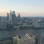 Views across the Thames from Oblix East, in the Shard building. London
