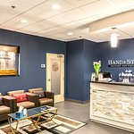 Front Reception - Hand & Stone Leaside