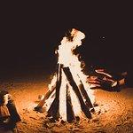 Camping Bonfire
