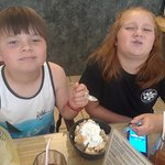 That face you make when you have to share your dessert!