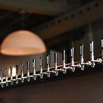 20 local microbrews on tap
