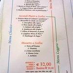 3 ipotesi di menu