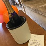 champagne as gift