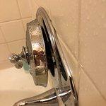 Broken & leaking shower valve.