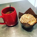 Locally Roasted Organic Coffee & A Traditional Coffee Cake