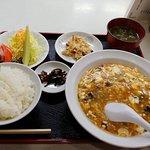 日替わり 麻婆豆腐定食。