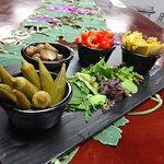 Marinated Vegetable plate