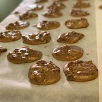 In house made southern pralines- making Fairhope Chocolate famous they are so good