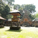 The grounds of one of the small temples (seen from outside the temple)
