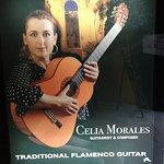 Celia Morales poster Flamenco guitar