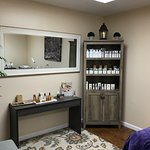Inside The Skin Cottage treatment room