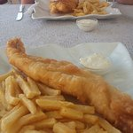 Friday is crispy cod day.