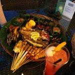 Seafood BBQ Platter