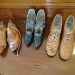 Tiny shoes Ms. Cornelius wore