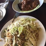 Salted Fish Fried Rice and Beef Rendang