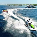 Plus experience the fun with the watersports