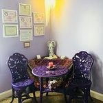 Psychic Lisa Ann's Reading area.
