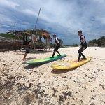 Cozumel Surfing ภาพถ่าย