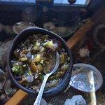 Seaweed (kelp) salad