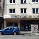 Front of Hotel Munchner Hof