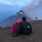 Acatenango Volcano ภาพถ่าย