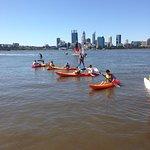 Kayaking on the Swan river