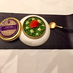 Chef Fornell Caviar specialty...