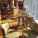 Champagne bar area