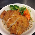 Chicken Cutlet Noodle Bowl