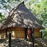 The Village Chief and his dwelling.
