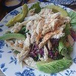 chicken and quinoa salad - sensational!