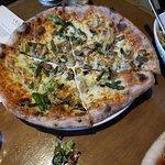 Big Birds pie- lemon chicken, asparagus and white sauce