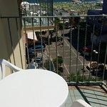 Dal terrazzo camera 52 3° piano Hotel Lido, Misano Adriatico