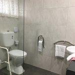 Disabled Bathroom - Toilet area