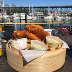 Nice view with my Halibut & Chips