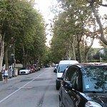 Улица Viale Cavour в Римини