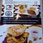 Really nice and large menu
