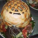 Nomad's yurt - unique banquete dish