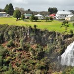 Beautiful falls in the centre of town