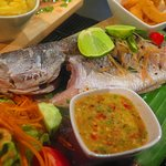 Steamed Whole Snapper