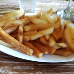 fries, really good