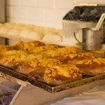Chaczapuri z kurczakiem i serem