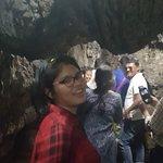 Thick stalagmites