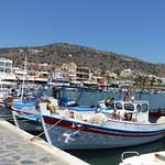 Le petit port d'Elounda