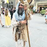 Medieval market in Cortona for the Archidado festival2018