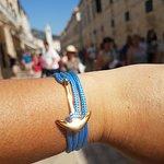 Anchor bracelet. Handmade in Croatia. Best gift ideas from Dubrovnik. Shopping in Croatia.