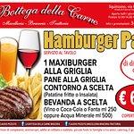 menu' su prenotazione con serata dedicata