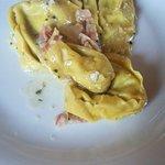 Tortelloni all'Emiliana con pancetta