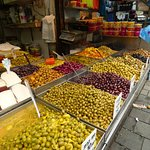 Olives of every colour and flavour