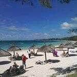 Belle Mare beach hotel area